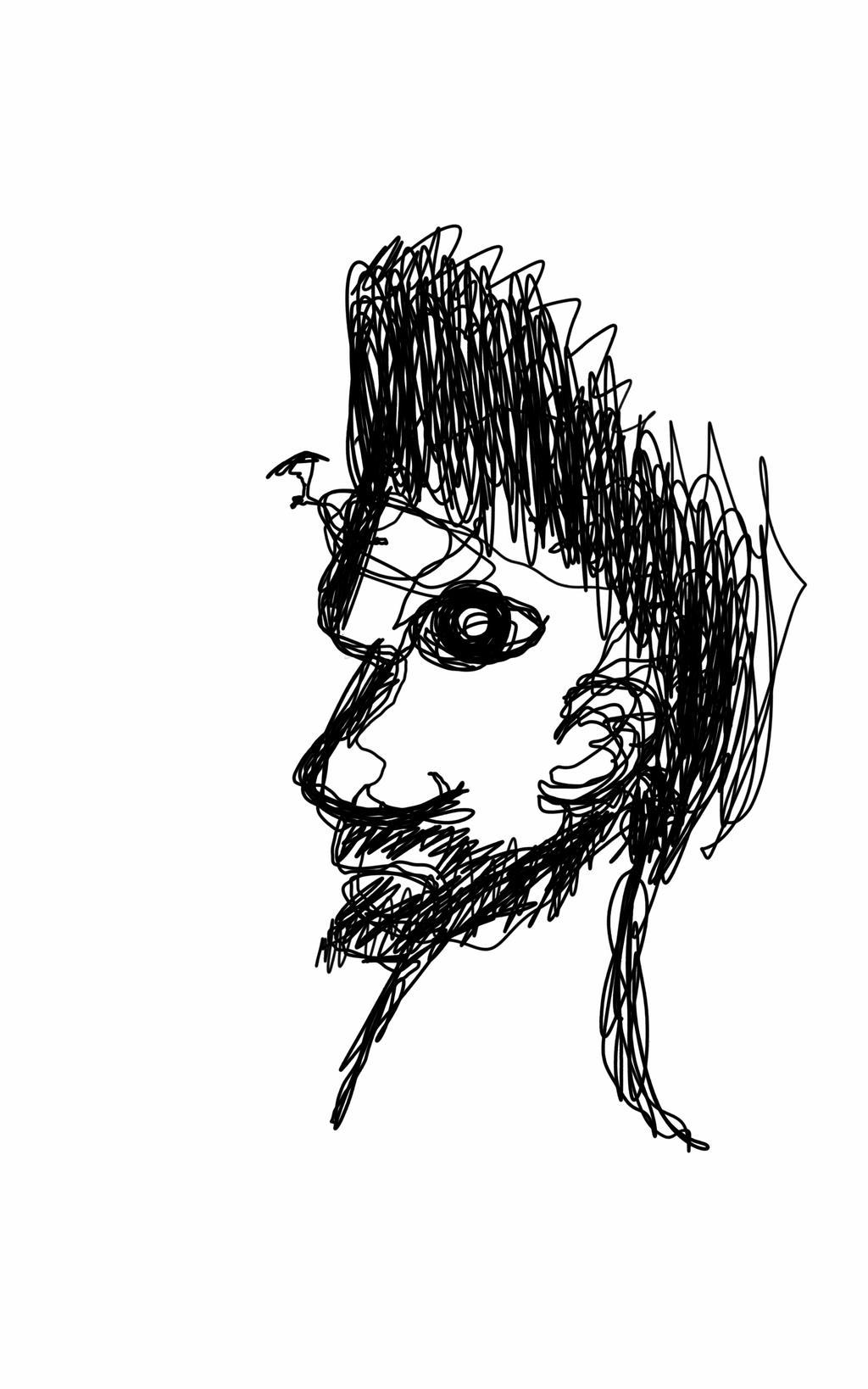 Blind Line Drawing Artists : Blind line by cardscubed on deviantart