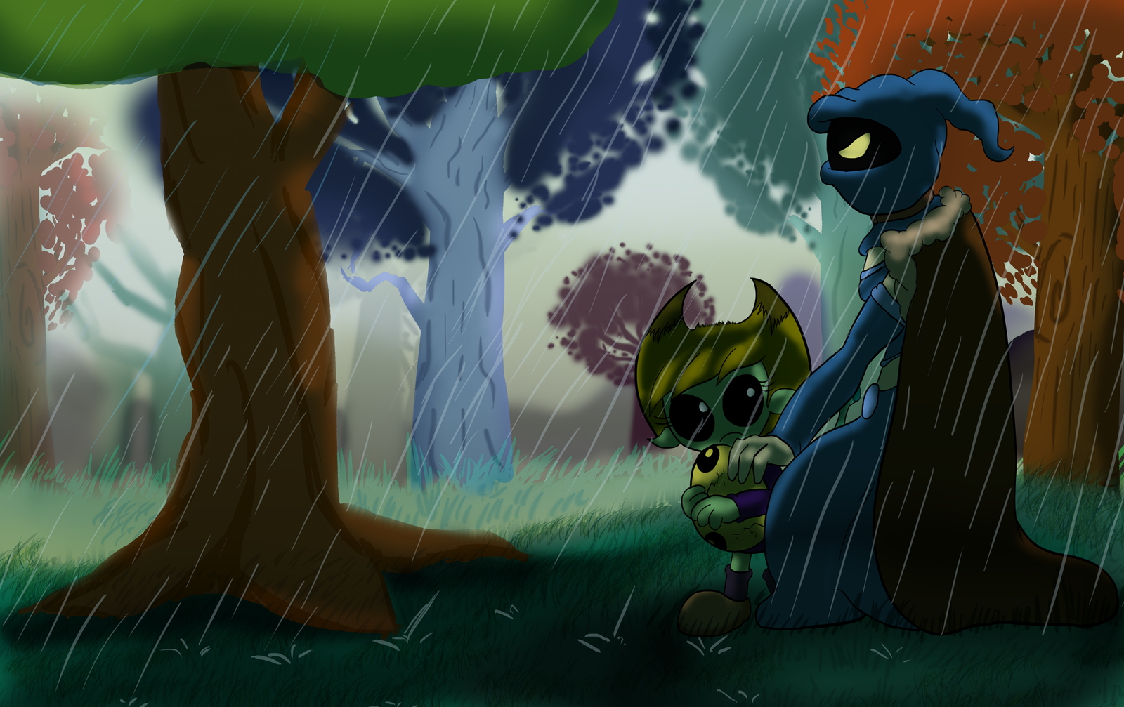 What a terrible day to be raining. by lazyradly