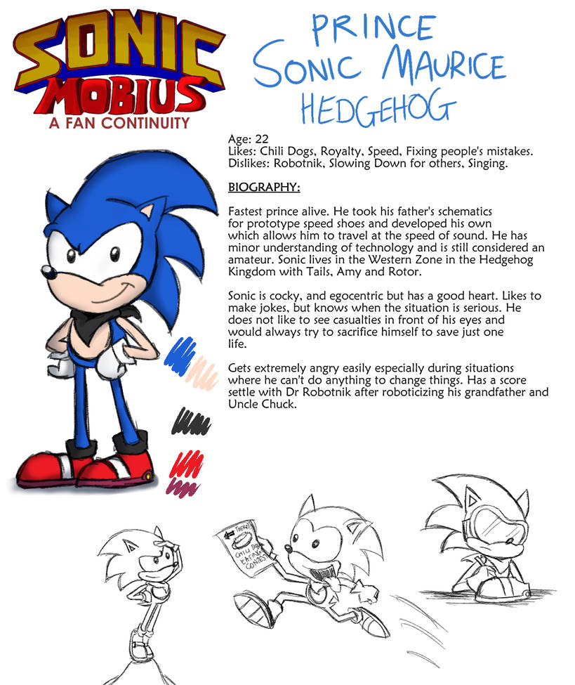 Prince Sonic Maurice Hedgehog By Lazyradly On Deviantart