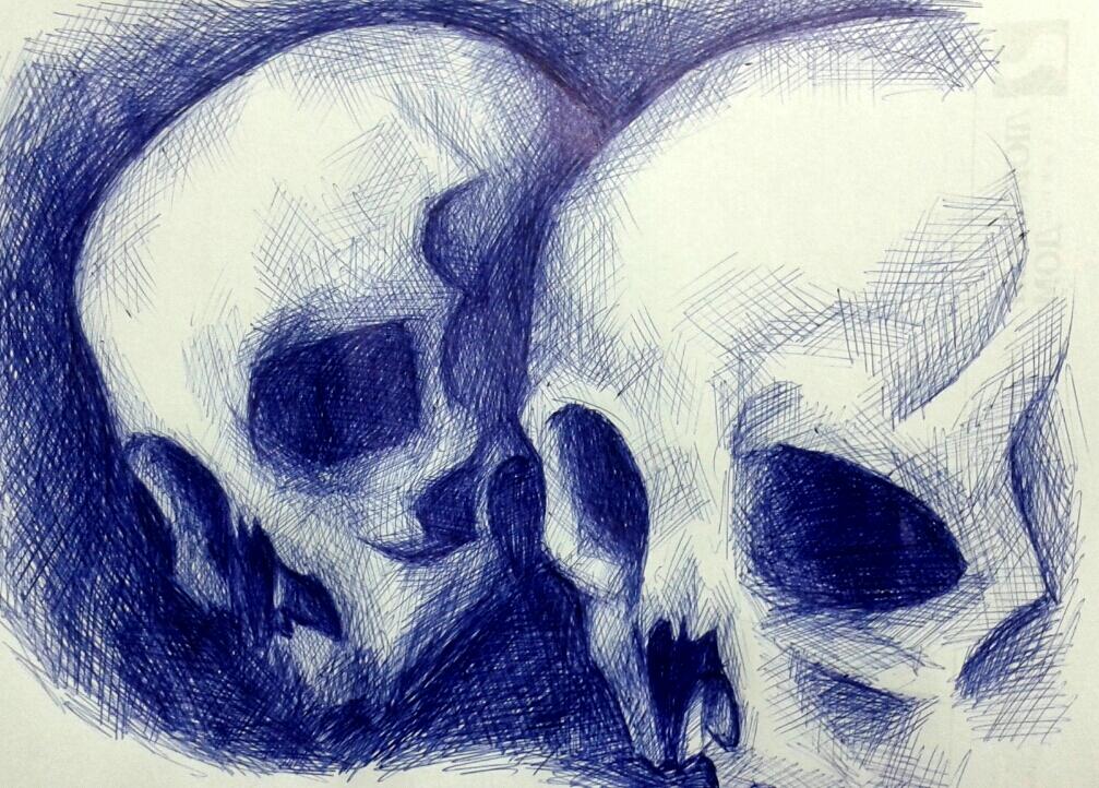 Skulls by katris-felis