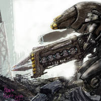 speed paint robot by Kaoimhin7