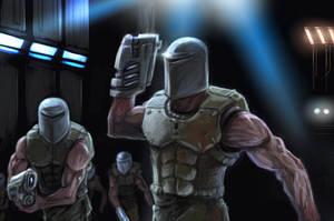 Quake 2 stroggs by Kaoimhin7
