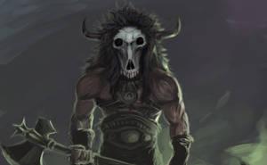 Ghost barbarian by Kaoimhin7