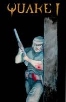 Quake I, fictional book cover by Kaoimhin7