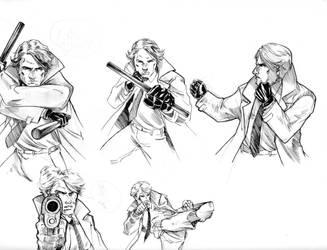 Character creation sheet -poses