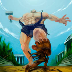 Heracles vs Cyclops