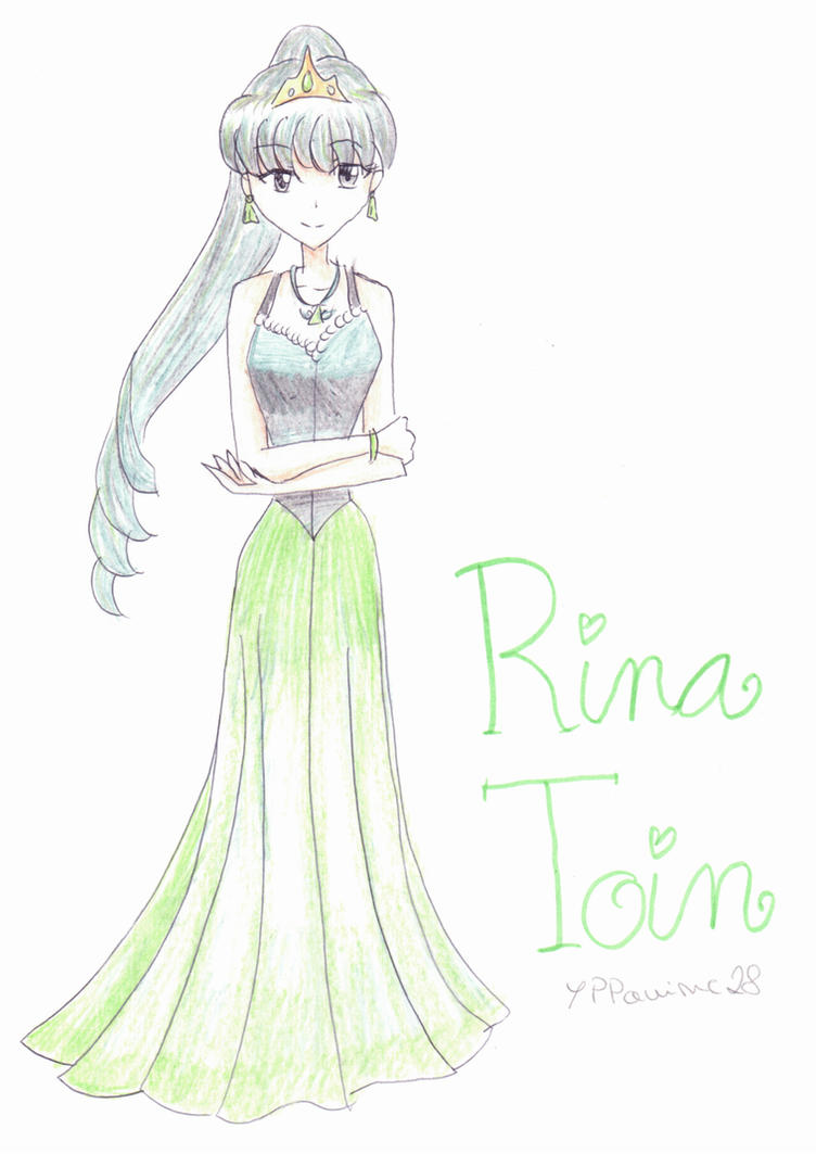 Rina Toin (Mermaid Melody PPP) by YPPanime28