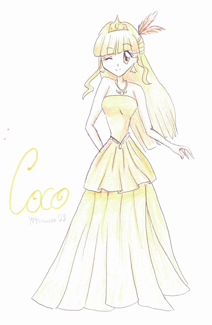 Coco (Mermaid Melody PPP) by YPPanime28