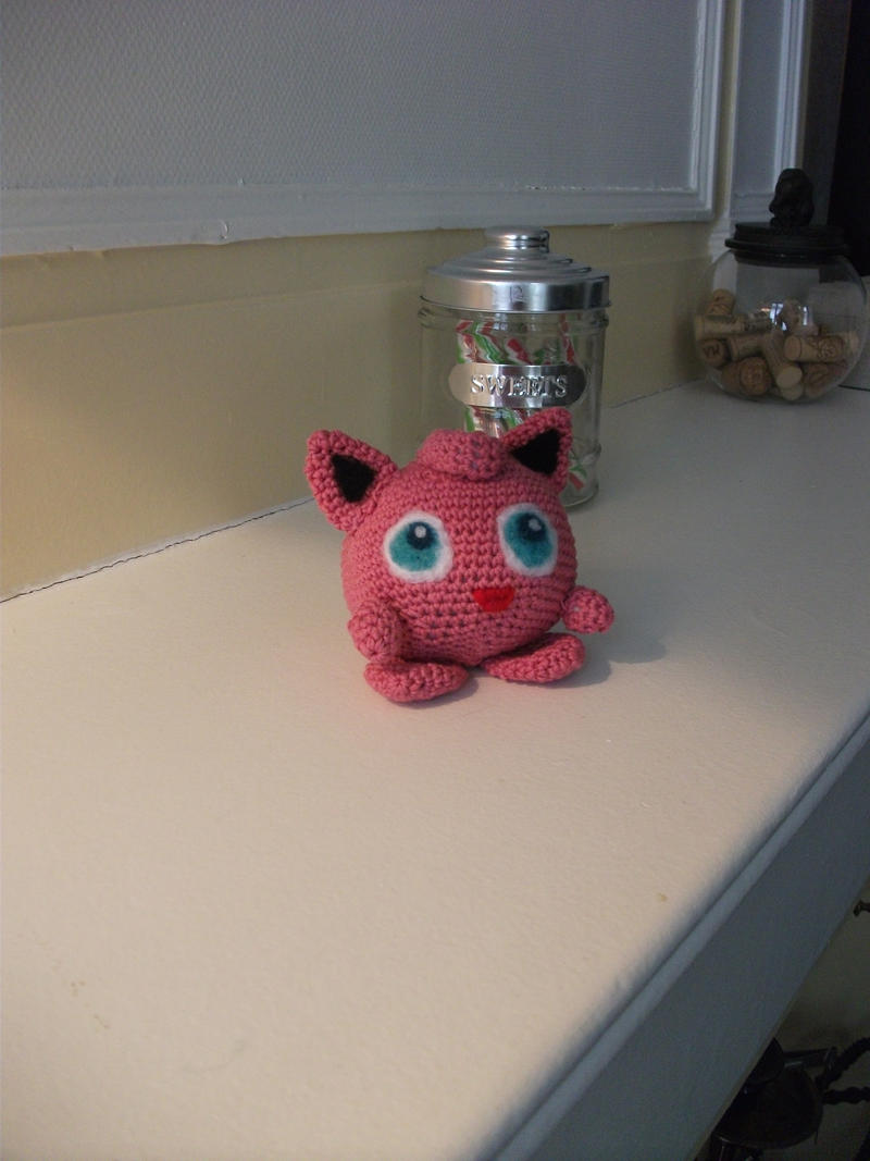 Amigurumi Jigglypuff Pattern : Jigglypuff amigurumi by Kitty-Pixels on DeviantArt