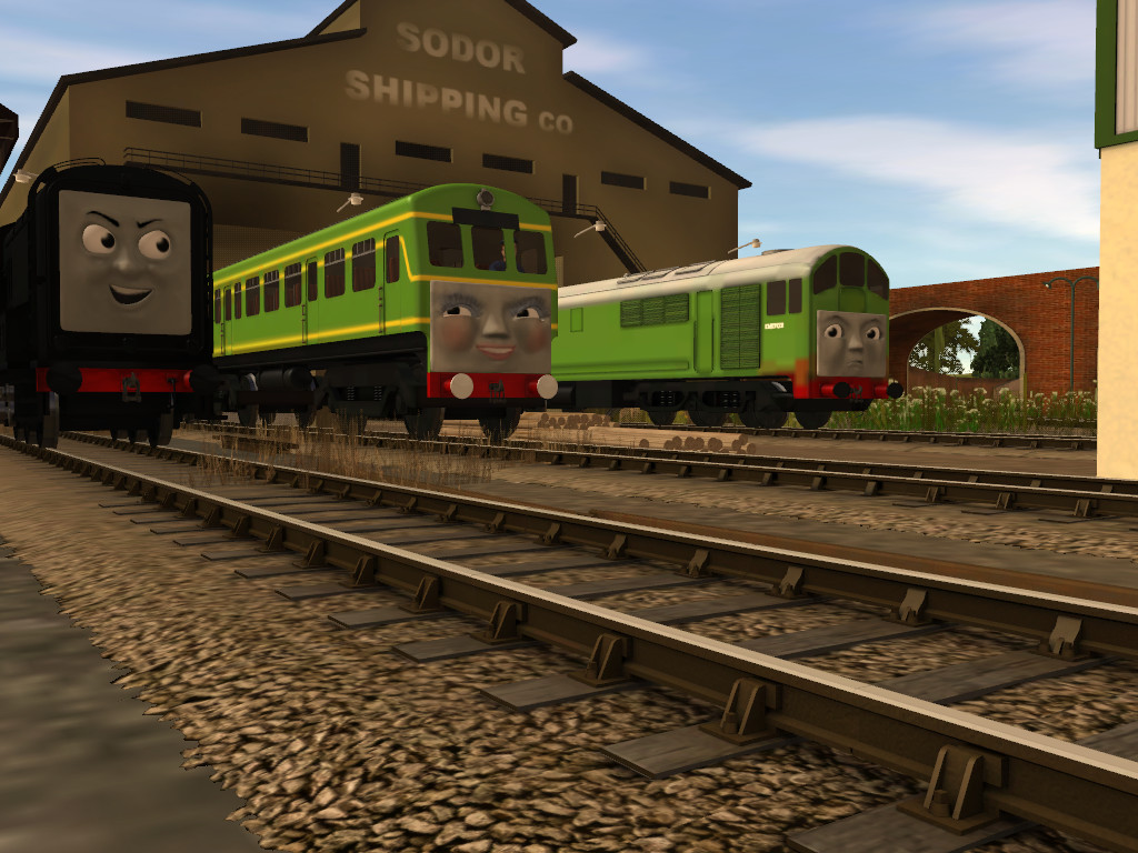 Image boco in trainz thomas and friends png scratchpad fandom - Another One To The Dark Side By Bramgroatonda On Deviantart