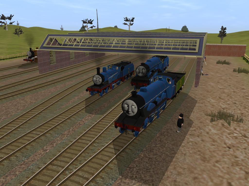 Tribute to 70 Year of the Railway Series by BramGroatonDA