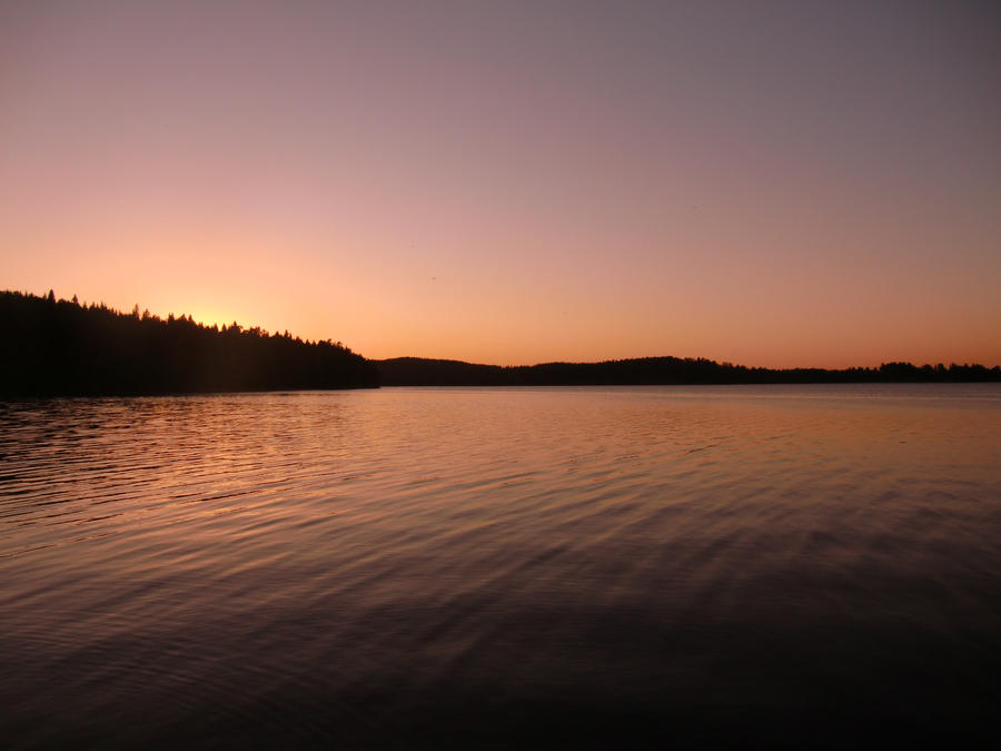 June sunset by ainoani