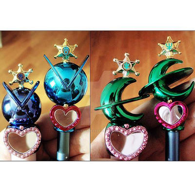 Lips road Sailor Uranus and Sailor Neptune by onlyagame89
