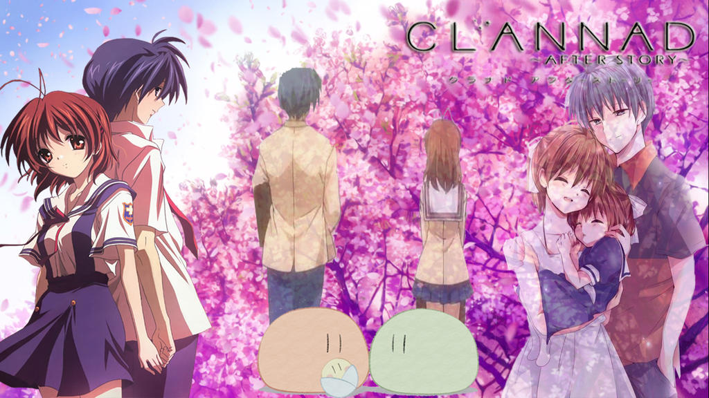 clannad after story wallpaper ushio