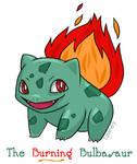The Burning Bulbasaur