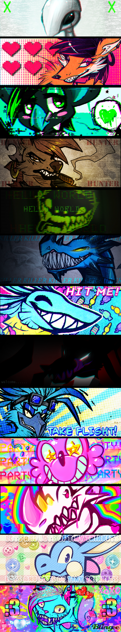 OC BANNERS by Rosemary-the-Skunk