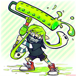 The Squid [Roller] by Rosemary-the-Skunk