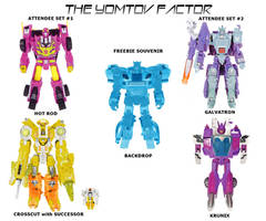 Botcon: The Yomtov Factor 2 by Blueshift2k5