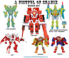 Botcon: A Fistful of Shanix 1 by Blueshift2k5