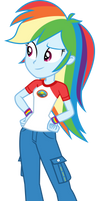 Rainbow Dash by LimeDazzle