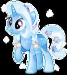 Trixie as Crystal Pony
