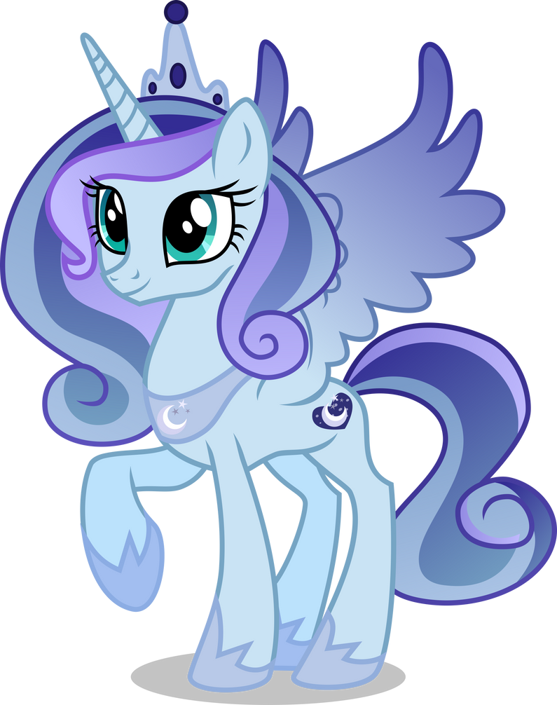 au princess luna by limedazzle on deviantart