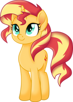 MLP Movie - Sunset Shimmer by LimeDazzle