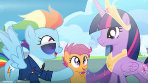 Meet Rainbow Dash