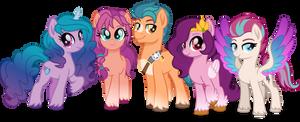 G5 - Main Ponies