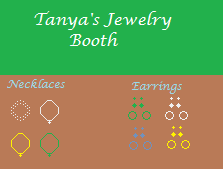 Tanya's Jewelry Booth #1 by melfurny