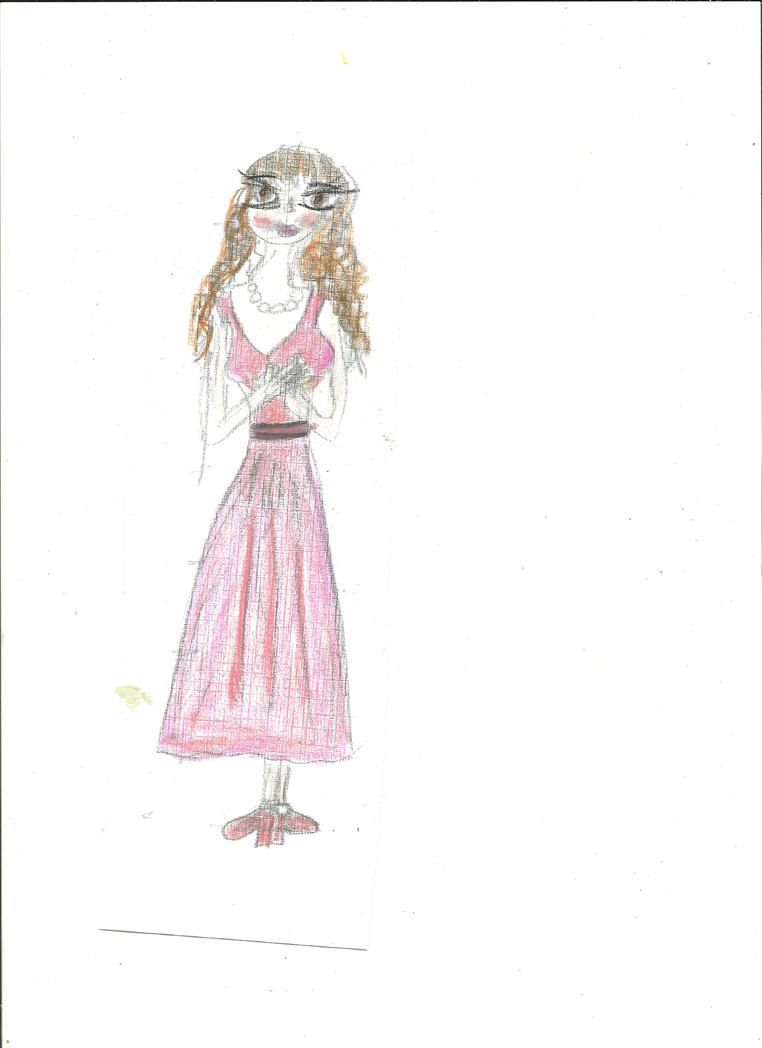 Tsubaki con vestido de fiesta by PrincesaRuu