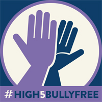 HighFives for Bully-Free Lives! by darkallygrudge