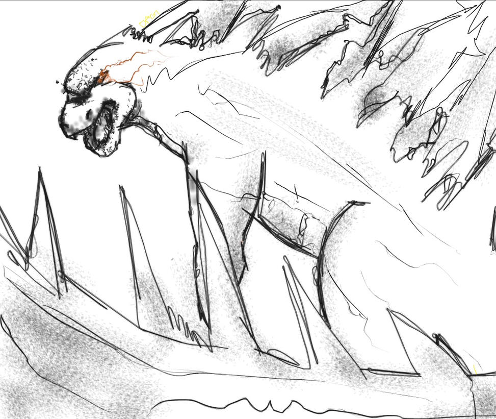 Godzilla by darkallygrudge