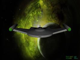 Romulan Bird of Prey by AlleycatCY