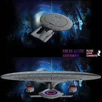 Mighty Enterprise D by AlleycatCY