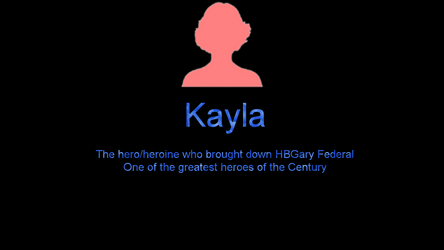 Anonymous Kayla by AlleycatCY