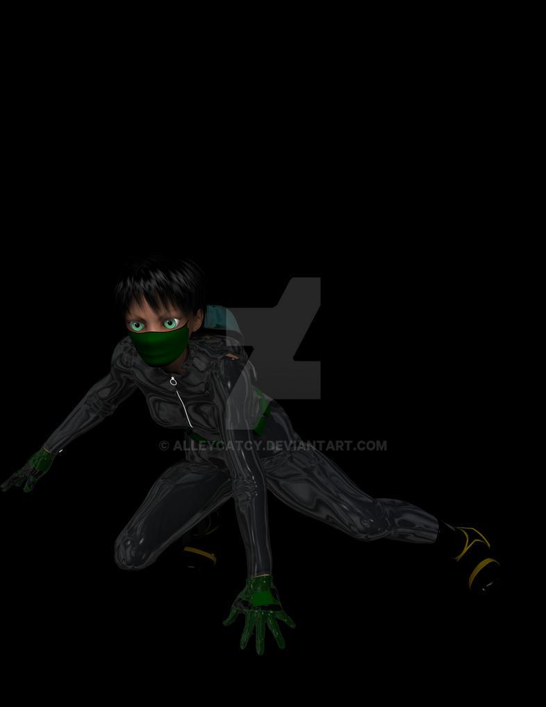 Superhero RANCID 2 by AlleycatCY