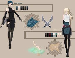 Oc - Profile by NevermoreMango