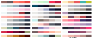 [F2U] colour palettes by criminaIs
