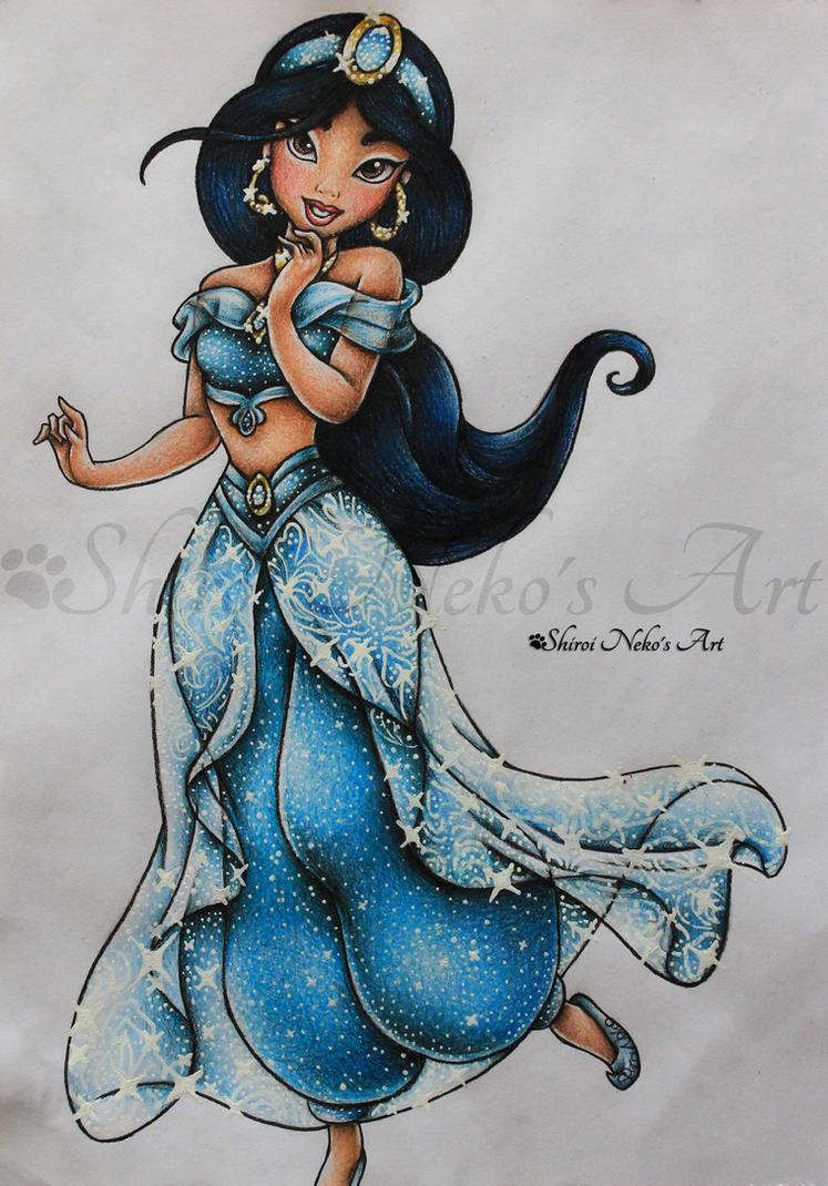 Bienvenidos al nuevo foro de apoyo a Noe #243 / 10.04.15 ~ 12.04.15 - Página 2 Aladdin_drawing___jasmine_by_shiroinekosart-d83iwwx