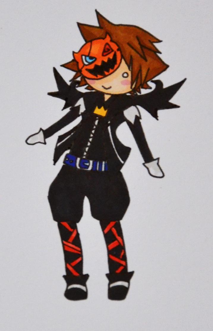 Chibi Halloween Town Sora by sound-sasuke on DeviantArt