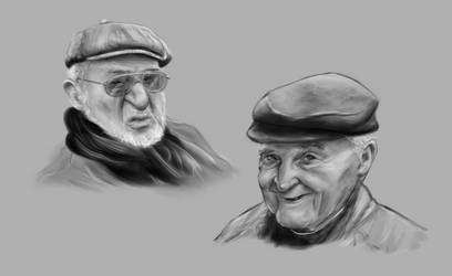 portrait study by gammalex