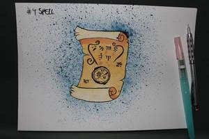 4 Spell by Frakkle-art