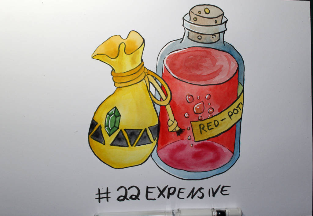 22 Expensive by Frakkle-art