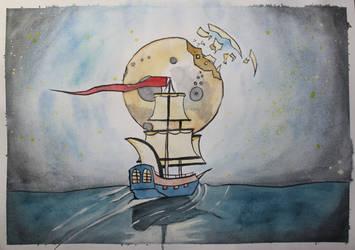 Adventure by Frakkle-art
