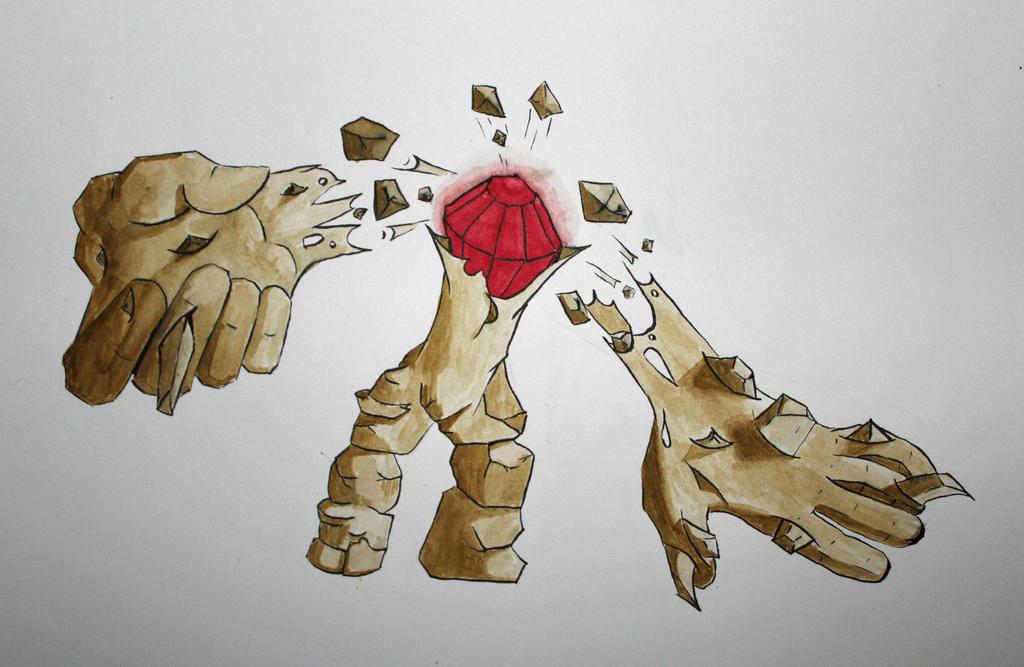 Golem by Frakkle-art