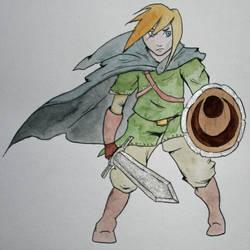 Link by Frakkle-art