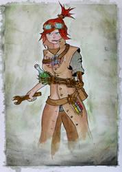 Technomancer - The Alchemist by Frakkle-art