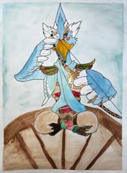 Revali by Frakkle-art