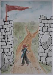 Stonework Gates